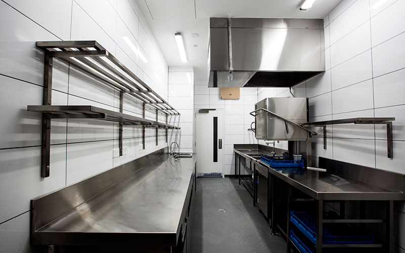 commercial kitchen range hood installation